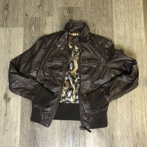 Ci Sonó by Cavalim Leather Jacket